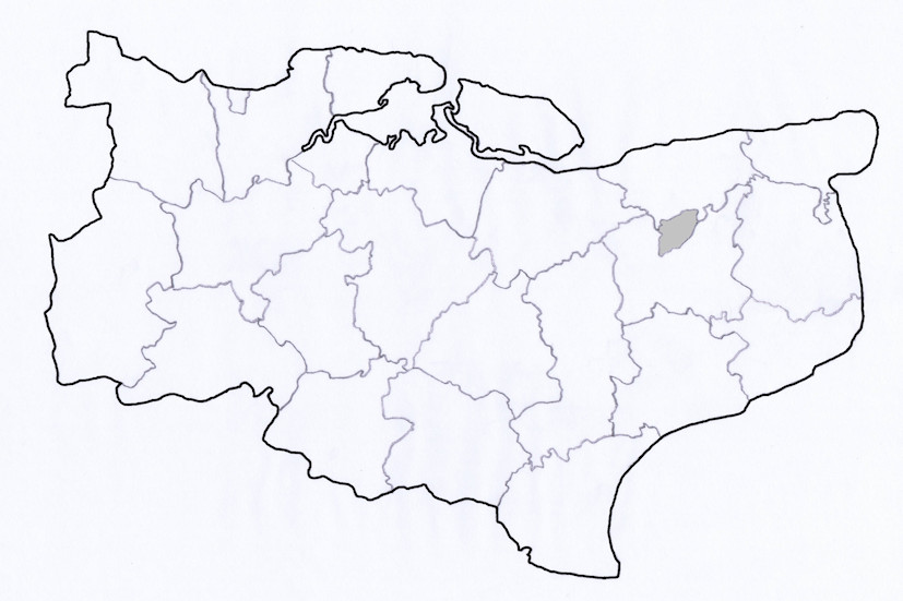 Map - Canterbury Union